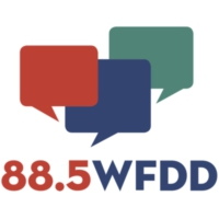 Logo of radio station WFDD 88.5