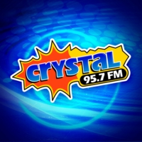 Logo of radio station Crystal 95.7 FM