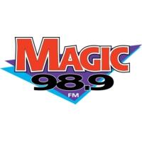 Logo de la radio KYMG Magic 98.9fm