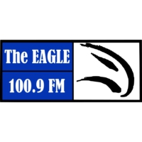 Logo de la radio CKUV-FM The Eagle 100.9