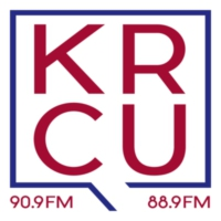 Logo of radio station KRCU Public Radio