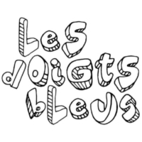 Logo of radio station LeS dOiGtS bLeUs