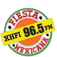 Logo de la radio XHFI Fiesta Mexicana 96.5