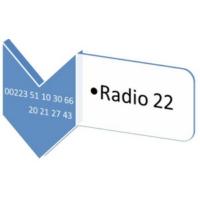 Logo de la radio RADIO 22