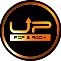 Logo of radio station UP Pop & Rock