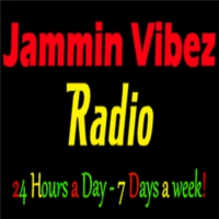 Logo of radio station Jammin Vibez Soca