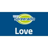 Logo de la radio 105.5 Spreeradio Love