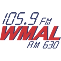 Logo of radio station WMAL 105.9 FM