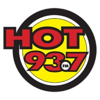 Logo of radio station CKWY-FM HOT 93.7