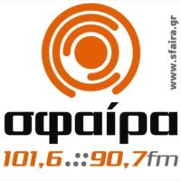 Logo of radio station Sfaíra 90.7 - Σφαίρα 90.7