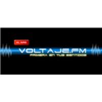 Logo of radio station Voltaje FM