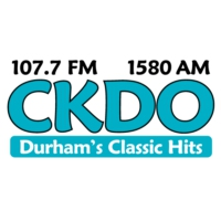 Logo of radio station CKDO 107.7 FM