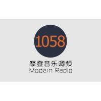 Logo of radio station 摩登音乐调频 FM105.8