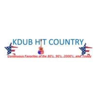 Logo of radio station Kdub Hit Country