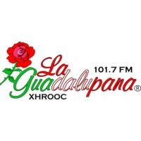 Logo of radio station XHROOC La Guadalupana 101.7 FM