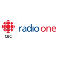 Logo of radio station CBC Radio One Moncton