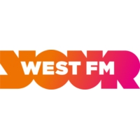 Logo of radio station West FM
