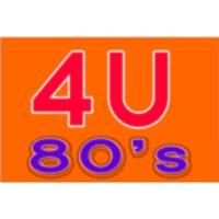 Logo de la radio 4U - 80's