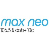 Logo de la radio max neo