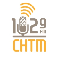 Logo of radio station 102.9 CHTM