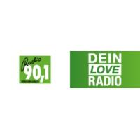 Logo of radio station Radio 90.1 – Dein Love Radio