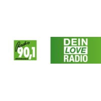 Logo of radio station Radio 90.1 – Dein Love Radio