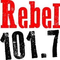 Logo of radio station CIDG-FM Rebel 101.7