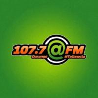 Logo de la radio XHOH @FM 107.7 FM