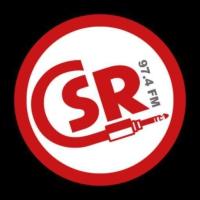 Logo of radio station CSR (Canterbury Student Radio)