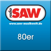 Logo of radio station radio SAW - 80er