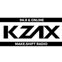 Logo de la radio KZAX 94.9LP FM