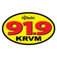 Logo de la radio KRVM 91.9 FM