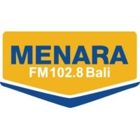 Logo de la radio Menara 102.8 FM Bali