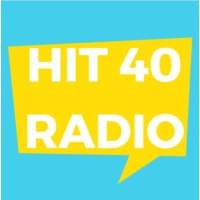 Logo of radio station Hit 40 Radio
