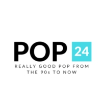 Logo of radio station POP 24