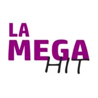 Logo of radio station La Mega Hit