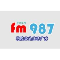 Logo of radio station 铜陵交通生活广播 FM98.7