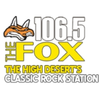 Logo of radio station KIXA 106.5 The Fox