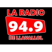 Logo of radio station FM 94.9 La Radio de Llavallol