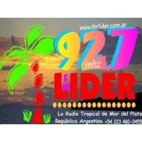 Logo of radio station Lider FM 92.7