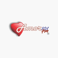 Logo of radio station XHFX-FM Amor 101