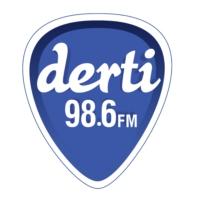 Logo de la radio Derti 98.6 FM