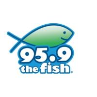 Logo de la radio KFSH The Fish 95.9 FM