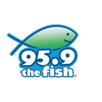 Logo of radio station KFSH The Fish 95.9 FM
