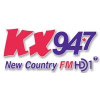 Logo of radio station CHKX-FM KX 94.7
