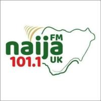 Logo of radio station Naija FM 101.1