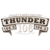 Logo de la radio WKMK-FM Thunder 106