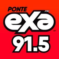 Logo of radio station XHJC Exa FM 91.5