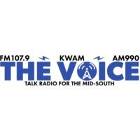 Logo de la radio KWAM 990