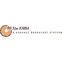 Logo of radio station KNBA 90.3 FM